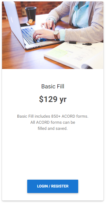 Fill in ACORD forms